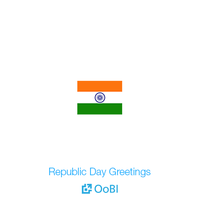 OoBI Republic day Greetings